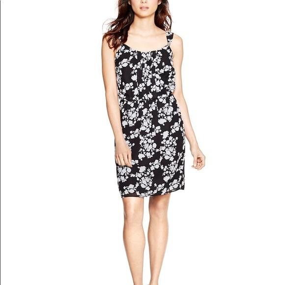 2bd7483a WHBM Sleeveless floral print blouson dress size 4. NWT. White House Black  Market
